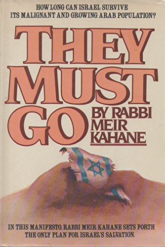 They Must Go (0448120267) by Meir Kahane