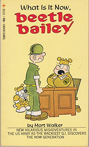 What Is It Now, Beetle Bailey (0448121581) by Walker, Mort