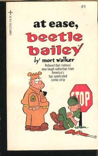 At Ease, Beetle Bailey (Beetle Bailey #3)