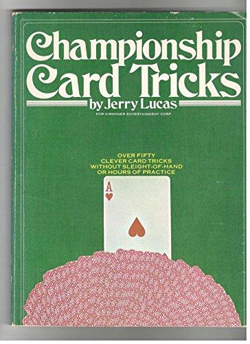9780448121734: Championship Card Tricks