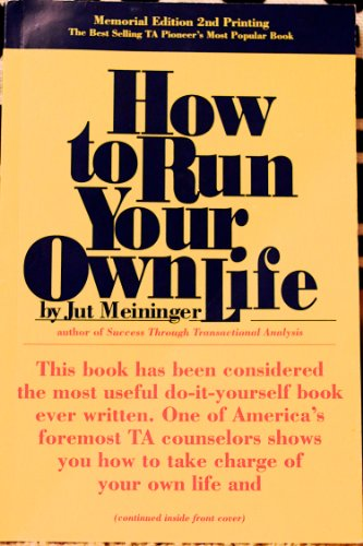 9780448123608: How To Run Own Life