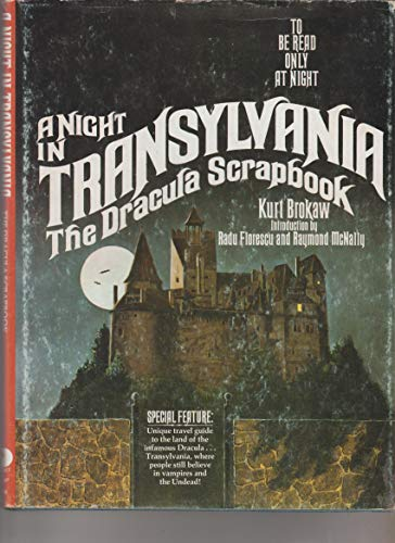 9780448124384: A Night in Transylvania: The Dracula Scrapbook