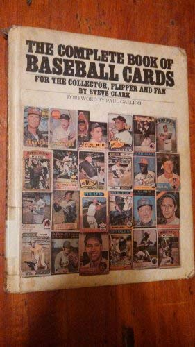 9780448125084: The complete book of baseball cards