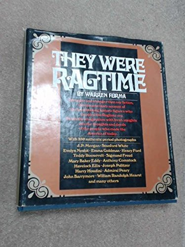 9780448125534: They were ragtime