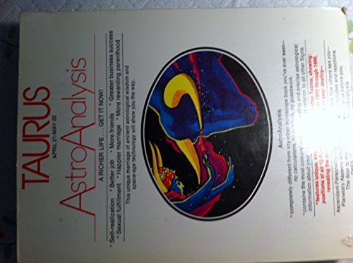 AstroAnalysis 1984: Taurus (AstroAnalysis Horoscopes): Amer. AstroAnalysts Institute
