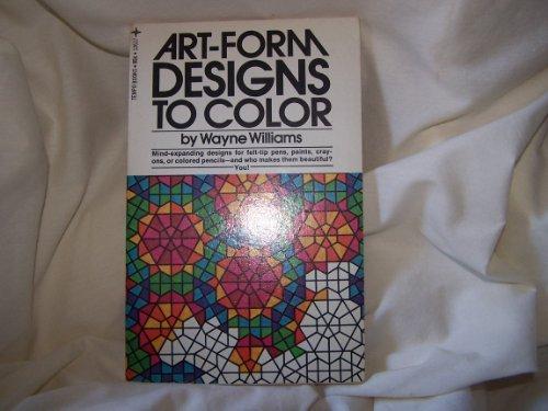9780448126173: Art-Form Designs To Color