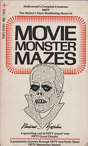 9780448126289: Movie Monster Mazes