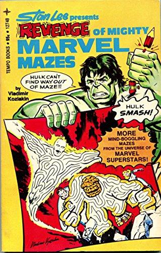 9780448127484: Stan Lee presents Revenge of mighty Marvel mazes
