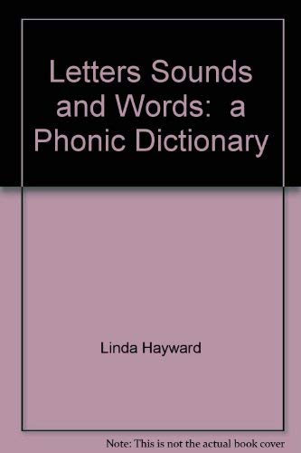 9780448130323: Letters, Sounds and Words: A Phonic Dictionary