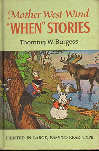 Mother West Wind's Where Stories (9780448137322) by Thornton W. Burgess