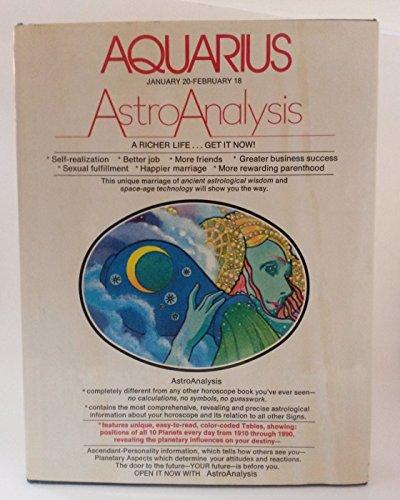9780448141015: Astro Analysis Aquarious