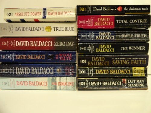 9780448141534: David Baldacci 13 Book Set: The Simple Truth, the Winner, Saving Faith, Wish You Well, Total Control, Absolute Power, True Blue, Zero Day, Deliver Us From Evil, Last Man Standing, the Whole, Truth the Innocent, the Christmas Train,