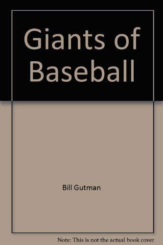 9780448146768: Giants of Baseball