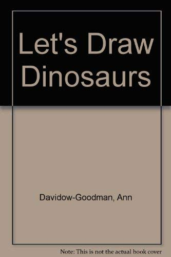9780448149905: Let's Draw Dinosaurs