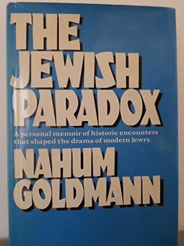 9780448151663: The Jewish Paradox