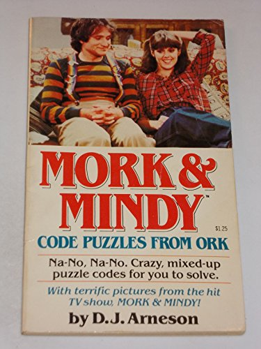 9780448158792: MORK AND MINDY CODE PUZZLES FROM ORK