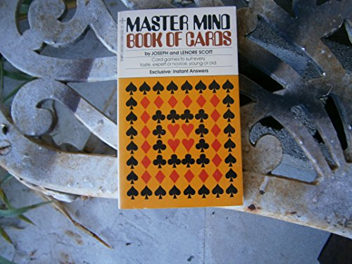 Master Mind Book Of Cards, No. 6: Joseph and Lenore Scott