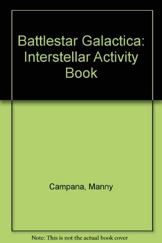 Battlestar Galactica Interstellar Activity Book