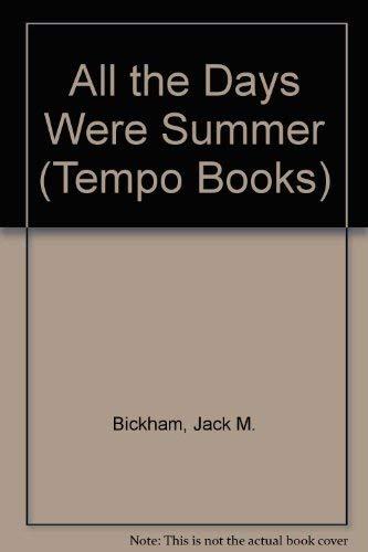 9780448169262: All the Days Were Summer (Tempo Books)