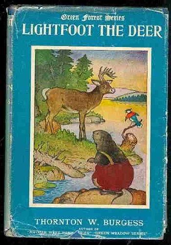 9780448170732: The Adventures of Lightfoot the Deer