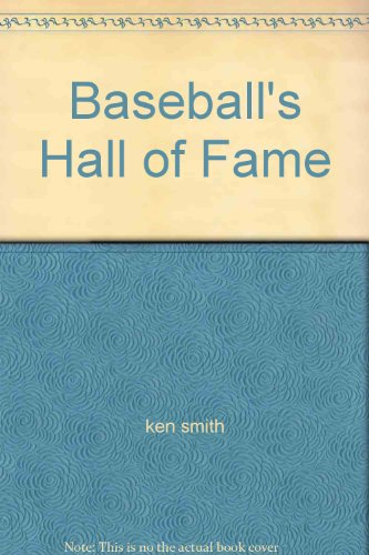9780448170831: Baseball's Hall of Fame
