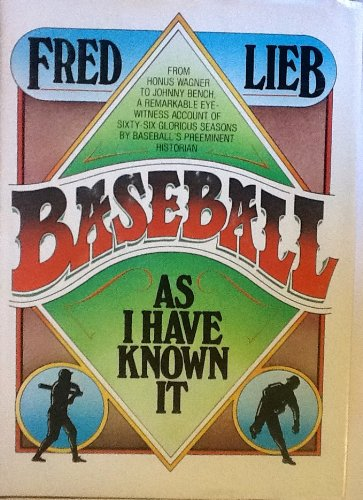 9780448173023: Baseball As I Have Known It