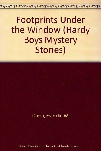9780448189123: Footprints Under the Window (Hardy Boys, Book 12)