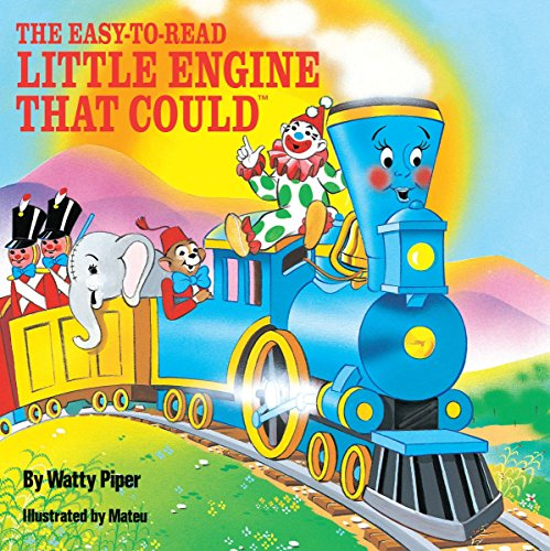 9780448190785: The Easy-To-Read Little Engine That Could (All Aboard Books)