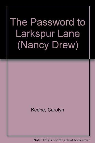 9780448195100: Nancy Drew 10: The Password to Larkspur Lane GB