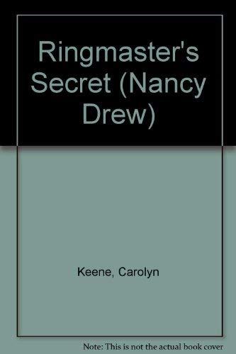 9780448195315: Nancy Drew 31: The Ringmaster's Secret GB