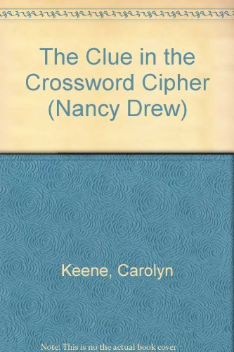 9780448195445: The Clue in the Crossword Cipher (Nancy Drew, Book 44)