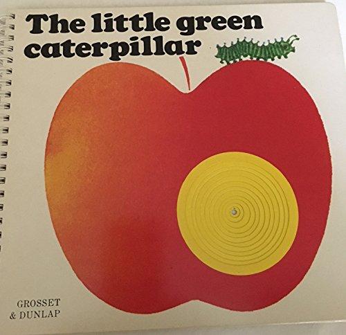 9780448210292: The Little Green Caterpillar (Poke & Look)