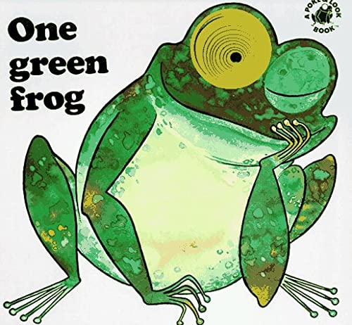 One Green Frog (A Poke & Look Book): Yvonne Hooker; Carlo A. Michelini (Illustrator)