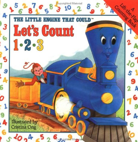 9780448401317: The Little Engine That Could Let's Count 123