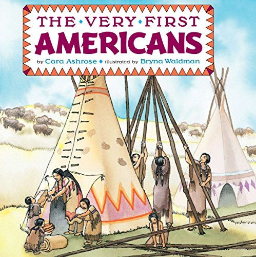 9780448401683: The Very First Americans (Grosset & Dunlap All Aboard Book)