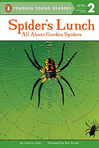 9780448402239: Spider's Lunch: All About Garden Spiders