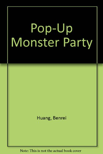 9780448402550: Pop-Up Monster Party