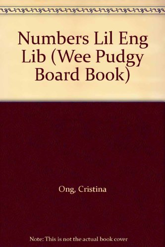9780448402635: Numbers Lil Eng Lib (Wee Pudgy Books)
