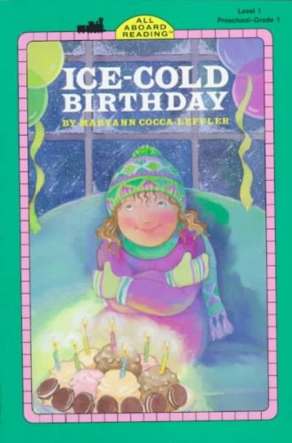 9780448403816: Ice-cold Birthday GB (All-Aboard Reading)