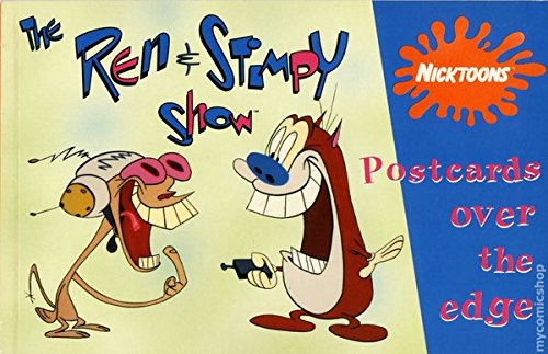 9780448405025: Ren and Stimpy Show: Postcards Over the Edge