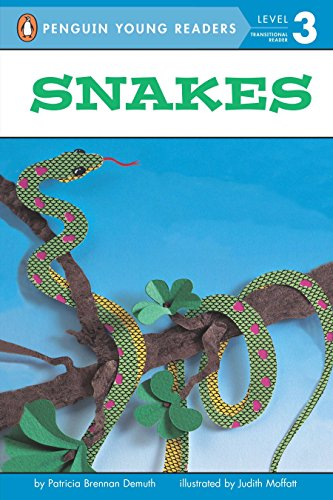9780448405131: Snakes (Penguin Young Readers, Level 3)
