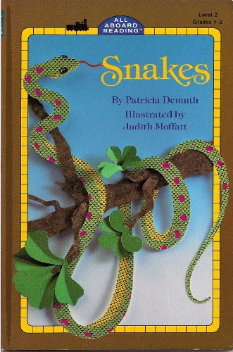 9780448405148: Snakes GB (All Aboard Reading)