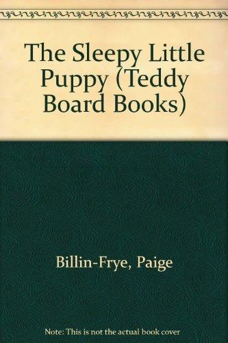 9780448405414: The Sleepy Little Puppy (Teddy Board Books)