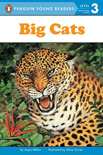 Big Cats (Penguin Young Readers, Level 3): Milton, Joyce
