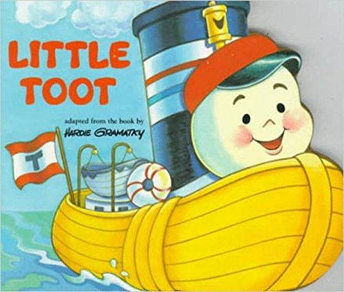 9780448405858: Little toot board book