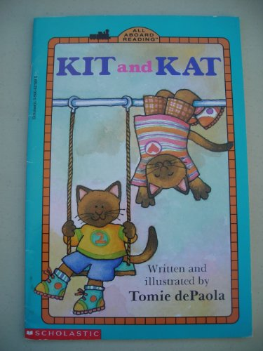 9780448407494: Kit and Kat GB (All Aboard Reading, Level 1, Preschool-Grade 1)