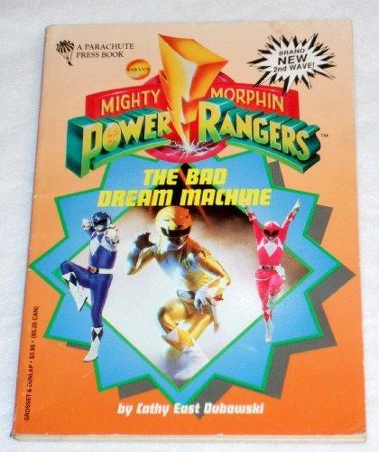 9780448409290: The Bad Dream Machine (Mighty Morphin Power Rangers)