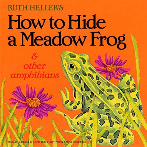 9780448409658: How to Hide a Meadow Frog and Other Amphibians (Reading Railroad)
