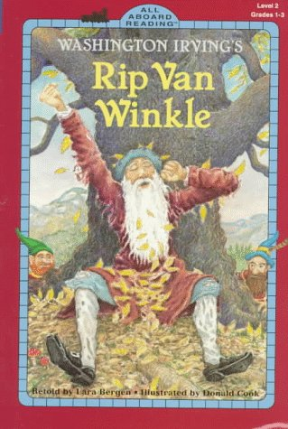 Washington Irving's Rip Van Winkle (All Aboard Reading Level 2, Grades 1-3)