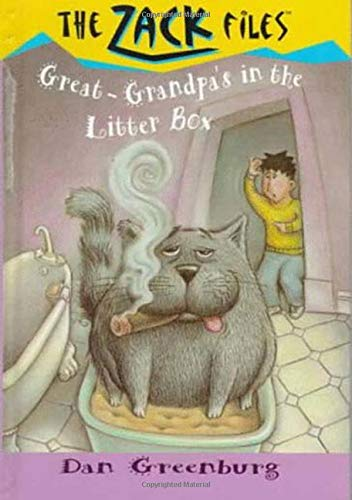 Zack Files 01: My Great-grandpa's in the Litter Box (0448412608) by Greenburg, Dan; Davis, Jack E.